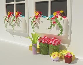 Flower 3D printable model