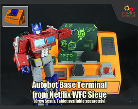 3D printable model Autobot Base Terminal from 3