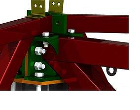 3D Warehouse steel framework