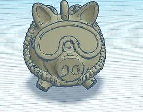 piggy diver 3D print model