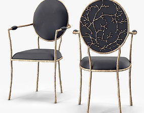 3D asset low-poly Koket Enchanted Dining Chair