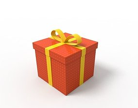 ribbon Gift box 3D