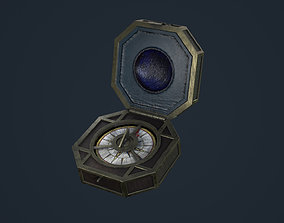 3D asset low-poly Jack Sparrow s Compass