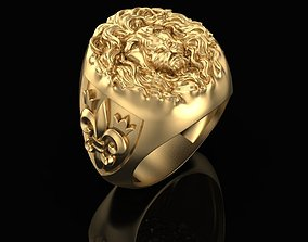 Ring The Lion King 3D printable model