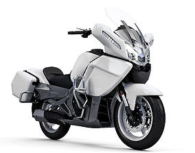 realistic CFMoto 650CC Motorcycle 3D