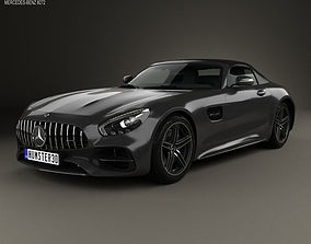 Mercedes-Benz AMG GT C Roadster 2017 3D