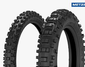Metzeler Enduro Tires FIM 3D model