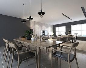 3D dining Dining room