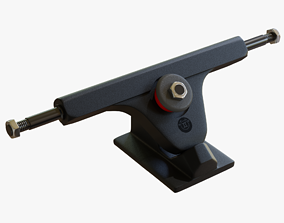 3D model Longboard truck