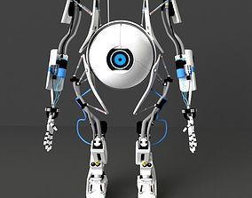 sci-fi Atlas Portal 3D Model character