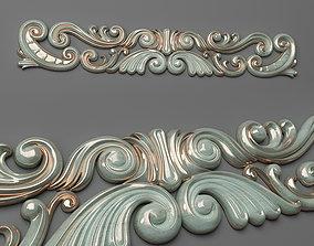 wall-decoration 3D print model Cartouche