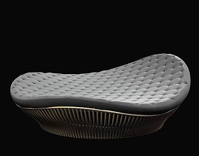 3D Corner 43 Decor Truffle Round Daybed