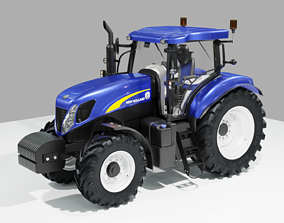 3D New Holland CNH Tractor T7000 holland