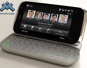 HTC Touch Pro2 - 2009 - animated 3D model