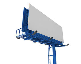 Billboard commercial 3D model