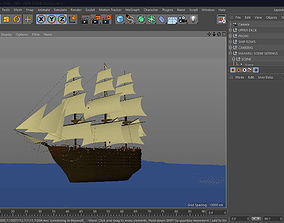 3D model CINEMA4D - The Souls Ship
