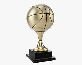 Trophy ball basketball 3D