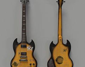 3D Fake Gibson Guitar