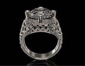 ring STL File Jewelry Design 0032 3D printable model