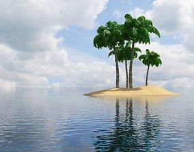 Island Scene 3D