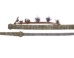 Dha Sword 3D model