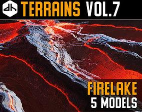 3D model Terrains Vol 7