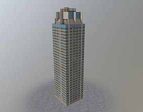 3D model London Barracks Tower