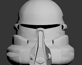 3D print model Star Wars Episode 3 Airborne Trooper 2