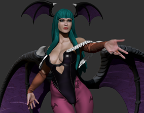Morrigan Aensland Statue 3D printable model