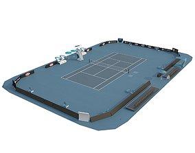Open Tennis Arena 3D