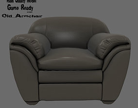 Armchair 3D asset realtime