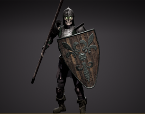 3D model Skeleton spearman