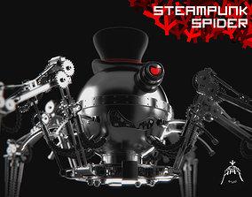 SteamPunk Spider 3D