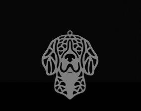 3D print model Beagle pendant