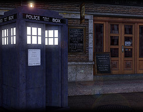3D model fi The 10th Doctors Tardis