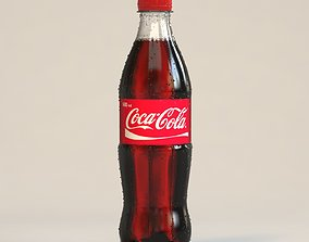 3D model Coca-Cola bottle 500ml
