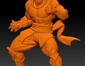 Shaolin Monk 3D printable model