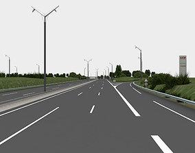 highway navigation 3D road city