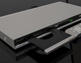 Philips DVD Player DVP 5166K 3D model player
