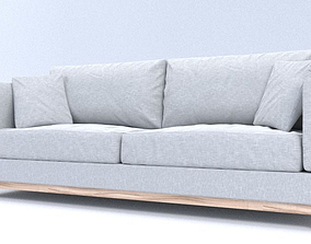 3D Summer Couch