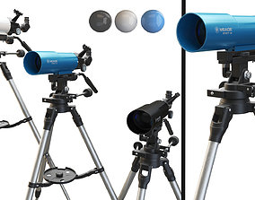 Meade Infinity 80mm Telescope 3D asset