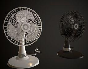 Table Fan 3D asset