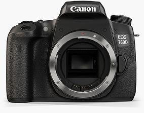 Canon EOS 760D 3D model