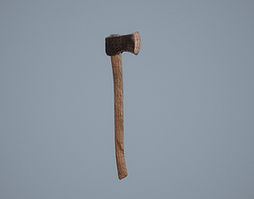 realtime axe model for game
