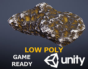 meteoroid 3D asset VR / AR ready Asteroid
