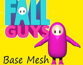 FALL GUY BASE MESH 3D print model