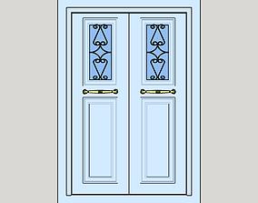 Colonial Door 3D