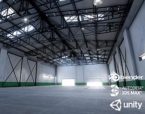 3D model Warehouse interior unity