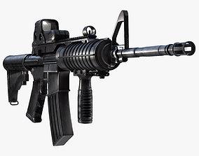M4A1 Assault Rifle 3D