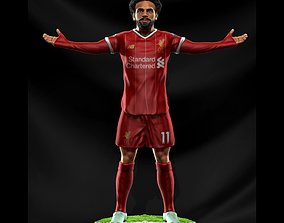 3D print model Mohamed Salah - Liverpool - Soccer Figure